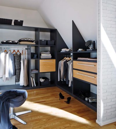 InVIDO Inspiration Dachausbau Ankleide