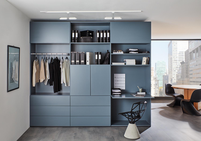 InVIDO Inspiration Garderobenschrank Schreibtisch