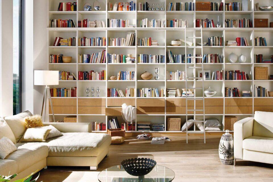 InVIDO Inspiration Raumhohe Bibliothek