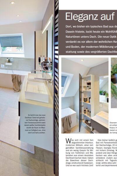 InVIDO Reportage GenerationY elegant Bad Dachausbau