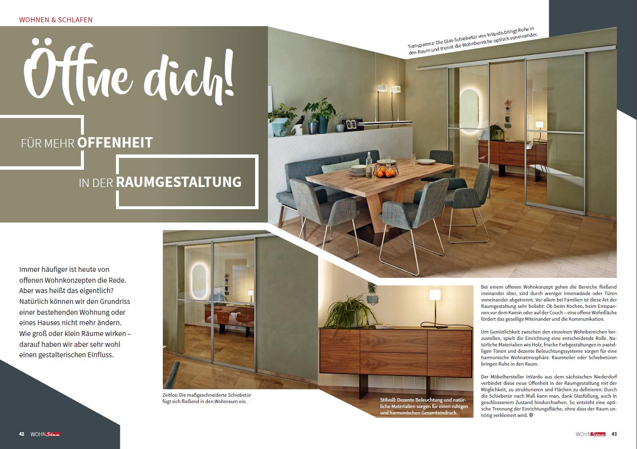 InVIDO Reportage Küche Schiebetür Raumgestaltung